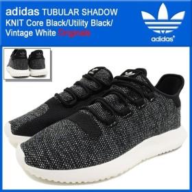 アディダス adidas スニーカー メンズ 男性用 チュブラー シャドウ ニット Core Black/Utility Black/Vintage White オリジナルス(BB8826)