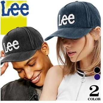 リー Lee キャップ レディース メンズ 帽子 ベースボールキャップ ローキャップ ブランド 大きいサイズ 大きめ おしゃれ LE M-TYPE CAP DENIM 100176304