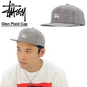 ステューシー STUSSY Glen Plaid Cap キャップ 帽子[BB]