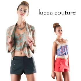 ルッカクチュール ショートパンツ ハーフパンツ キュロット パンツ スウェット レディース 夏 Lucca Couture