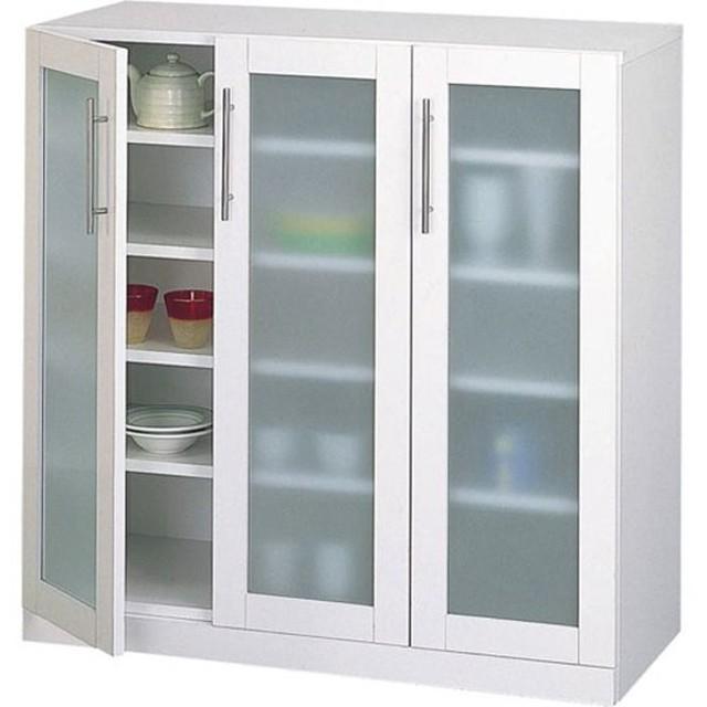 食器棚収納 レンジ台 カウンター 食器棚 カトレア 幅90cm 高さ90c 高さ90cm 幅895 奥行380 高さ900mm キッチン収納