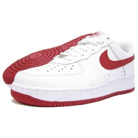 NIKE(ナイキ) AIR FORCE 1 LOW 07 White/Varsity Red icons Exclusive