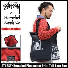 ステューシー STUSSY トートバッグ Herschel Placement Print Tall コラボ(STUSSY×Herschel tote bag メンズ レディース 134133 小物)
