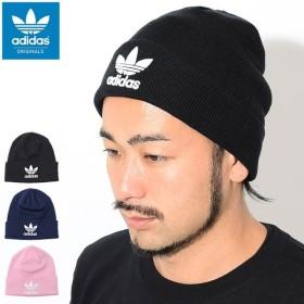 アディダス ニット帽 adidas トレフォイル ビーニー(adidas Trefoil Beanie Originals 帽子 ニットキャップ BK7634 BK7639 DH4299)