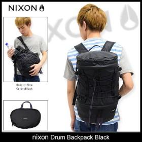 ニクソン nixon リュック ドラム バックパック ブラック(nixon Drum Backpack Black Bag メンズ レディース NC2557000)