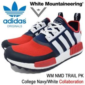 アディダス オリジナルス×White Mountaineering adidas Originals スニーカー メンズ WM ノマド トレイル PK College Navy/White(BA7519)