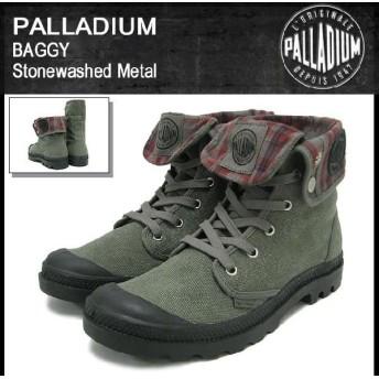パラディウム PALLADIUM ブーツ バギー Stonewashed Metal (palladium BAGGY Boot 02353-090)