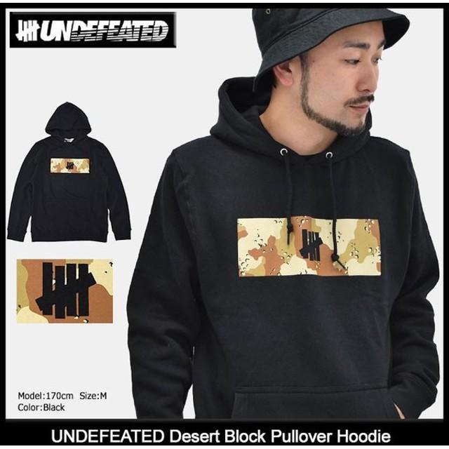 アンディフィーテッド UNDEFEATED プルオーバー パーカー メンズ デザート ブロック(Desert Block Pullover Hoodie 男性用 5920905)