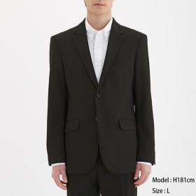 (GU)テーラードジャケットCL BLACK XL