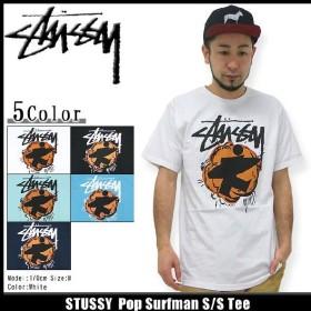 ステューシー STUSSY Pop Surfman Tシャツ 半袖(stussy tee ティーシャツ T-SHIRTS トップス メンズ・男性用 1903243)