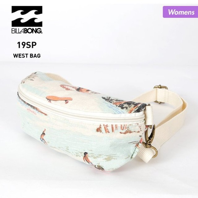 BILLABONG/ビラボン レディース ウエストバッグ ウエストポーチ 小物入れ ボディバッグ ビニール かばん 鞄 アウトドア フェス AJ013-980