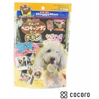 ドギーマン わんペロロ わんこのペロキャンディセット チキン 犬 おやつ ◆賞味期限 2020年1月