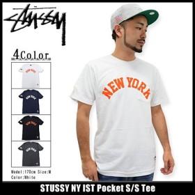 ステューシー STUSSY Tシャツ メンズ NY IST Pocket 1943588 (ポケット)