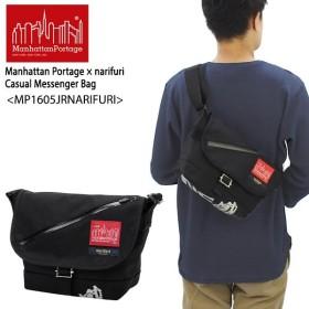 マンハッタン ポーテージ Manhattan Portage×narifuri Brooklyn   Casual Messenger Bag JR MP1605JRNARIFURI メッセンジャーバッグ S  ショルダーバッグ[BB]