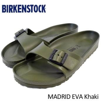 ビルケンシュトック BIRKENSTOCK サンダル メンズ 男性用 マドリッド EVA Khaki(birkenstock MADRID EVA 幅広 レギュラー GE128251)
