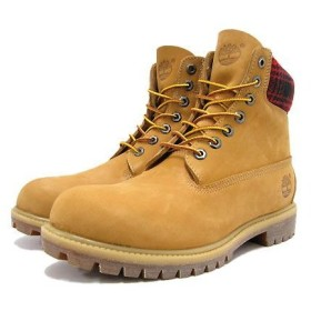 Timberland(ティンバーランド) 6inch Premium Boot with Woolrich Fabric Wheat ブーツ