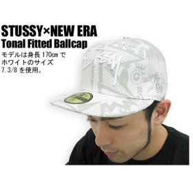 STUSSY(ステューシー)×NEW ERA Tonal Fitted Ballcap コラボ