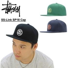 ステューシー STUSSY SS-Link SP18 Cap キャップ 帽子[BB]