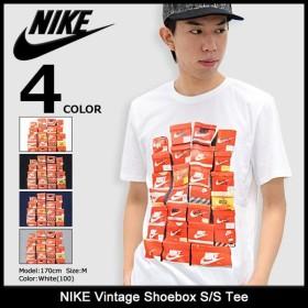ナイキ NIKE Tシャツ 半袖 メンズ ヴィンテージ シューボックス(nike Vintage Shoebox S/S Tee カットソー トップス 男性用 834637)