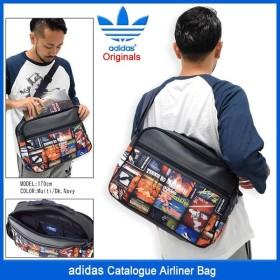 アディダス adidas ショルダーバッグ カタログ エアライナー バッグ オリジナルス(Catalogue Airliner Bag Originals AY7780)