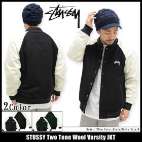 ステューシー STUSSY ジャケット メンズ Two Tone Wool Varsity(stussy jkt アウター ブルゾン スタジアムジャケット 男性用 115319)