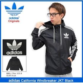 アディダス adidas ジャケット メンズ カルフォルニア ウィンドブレーカー ブラック オリジナルス(California Windbreaker JKT AY7747)