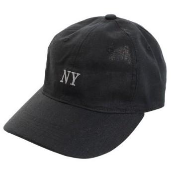 PGAC(PGAC) リネン刺繍キャップ NY 897PA9ST1697 BLK (Men's)