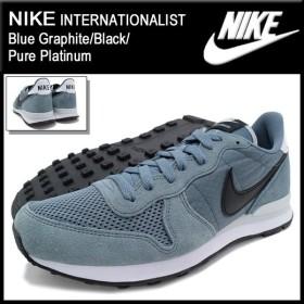 ナイキ NIKE スニーカー インターナショナリスト Blue Graphite/Black/Pure Platinum メンズ(男性用) (nike INTERNATIONALIST 631754-403)