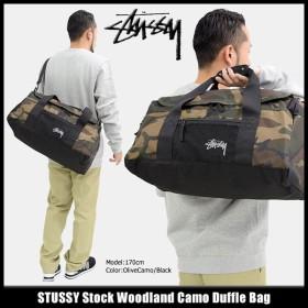 ステューシー STUSSY ダッフルバッグ Stock Woodland Camo(stussy duffle bag ショルダーバッグ メンズ レディース 134167 小物)