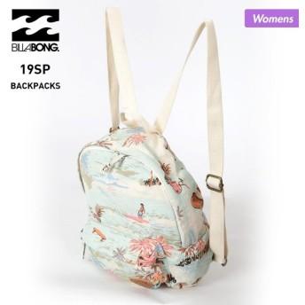BILLABONG/ビラボン レディース バックパック デイパック リュックサック ザック バッグ かばん 鞄 通勤 通学 AJ013-963