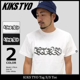 キックス ティー・ワイ・オー KIKS TYO Tシャツ 半袖 メンズ タグ(Kiks Tyo Tag S/S Tee カットソー トップス)