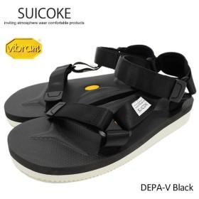 スイコック SUICOKE サンダル メンズ 男性用 DEPA-V Black(suicoke DEPA-V デパ vibram ビブラムソール スポーツサンダル OG-022V-11)