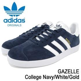 アディダス adidas スニーカー メンズ 男性用 ガゼル College Navy/White/Gold オリジナルス(adidas GAZELLE Originals ガッツレー BB5478)