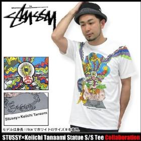 ステューシー STUSSY×Keiichi Tanaami Statue Tシャツ 半袖 コラボ(stussy tee ティーシャツ T-SHIRTS トップス 田名網敬一 0900100)