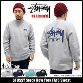 ステューシー STUSSY トレーナー メンズ Stock New York FA15 NY限定(stussy sweat ニューヨーク リミテッド スウェット 男性用 3912933)