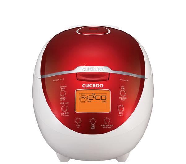 Cuckoo 福庫微電腦炊飯電子鍋 CR-0655F  韓國人氣品牌  30分鐘快速煮飯  13小時智能預約  72小時智能保溫