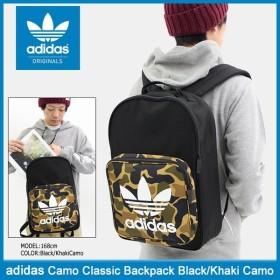 アディダス adidas リュック カモ クラシック バックパック ブラック/カーキカモ オリジナルス(Camo Classic Backpack Originals CD6121)