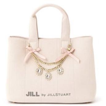 【JILL by JILL STUART:バッグ】ジュエルリボントートバッグ