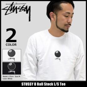 ステューシー STUSSY Tシャツ 長袖 メンズ 8 Ball Stock(stussy tee カットソー トップス ロンt 男性用 1994059)