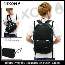 ニクソン リュック nixon エブリデイ バックパック ブラック/ミントグリーン(Everyday Backpack Black/Mint Green NC24282270)
