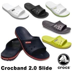 クロックス CROCS  クロックバンド 2.0 スライド crocband 2.0 slide  メンズ レディース サンダル 男女兼用 [AA]