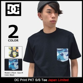 ディーシー DC Tシャツ 半袖 メンズ プリント PKT 日本限定(dc Print PKT S/S Tee Japan Limited カットソー トップス 男性用 5226J706)