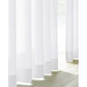遮熱ミラーレースカーテン2枚組ホワイト100×108cm