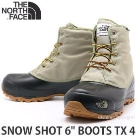 ザ ノース フェイス スノー ショット ブーツ THE NORTH FACE SNOW SHOT 6 BOOTS TX 4 靴 ヌプシ スノーシュー コーデ カラー:ツイル