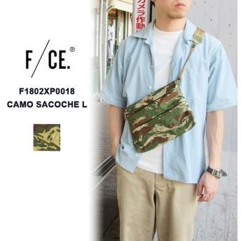 F/CE. ( エフイーシー ) F1802XP0018 CAMO SACOCHE L カモフラージュ サコッシュ ショルダーバッグ ユニセックス ミリタリー