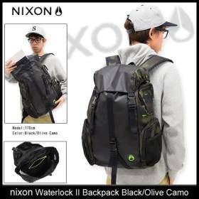 ニクソン nixon リュック ウォーターロック 2 バックパック ブラック/オリーブカモ(Waterlock II Backpack Black/Olive Camo NC19522428)