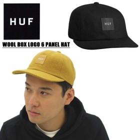 ハフ HUF  WOOL BOX LOGO 6 PANEL HAT 6パネル キャップ  帽子[BB]