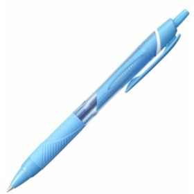 三菱鉛筆  ジェットストリーム カラーインク ノック式 油性ボールペン  0.5mm ライトブルーインク SXN-150C-05