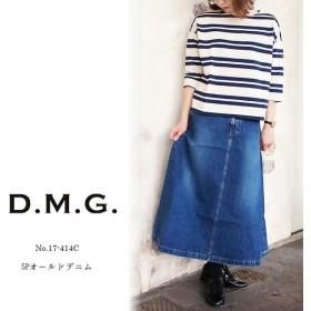 ドミンゴ dmg ディーエムジー レディース 5Pオールドスカート 17-414C 〔TB〕