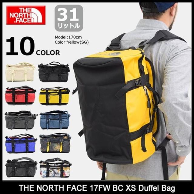 ノースフェイス ダッフル バッグ THE NORTH FACE 17FW BC XS(17FW BC XS Duffel Bag メンズ レディース NM81771)